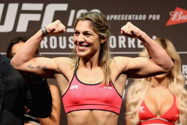 The animosity started earlier this year when Correia made a veiled reference to Rousey's father's suicide. | Ronda Rousey Just Defended Her UFC Title By Ending The Fight In 34 Seconds