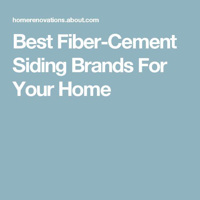 1000 ideas about fiber cement siding on pinterest for Fiber cement siding brands