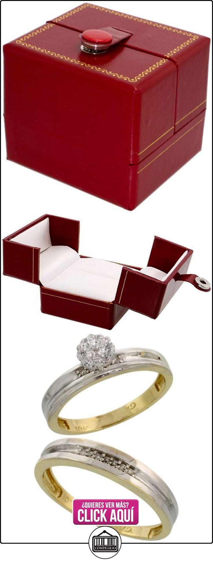 Revoni - Anillo de compromiso de oro amarillo  ✿ Joyas para hombres especiales - lujo ✿ ▬► Ver oferta: http://comprar.io/goto/B005M3FH4E
