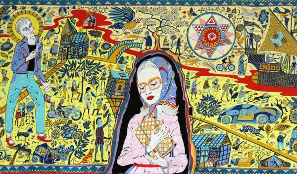 Grason Perry 'The Walthamstow Tapestry' - Pictify - your social art network