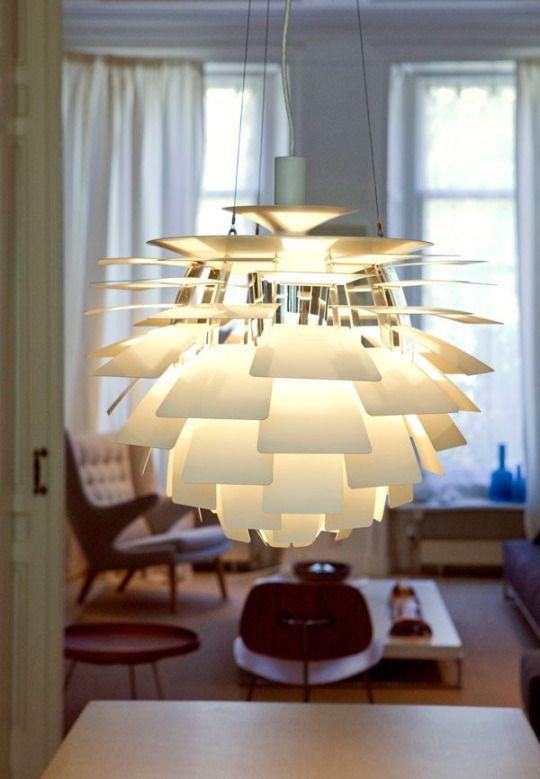 Artichoke Lamp by Poul Henningson
