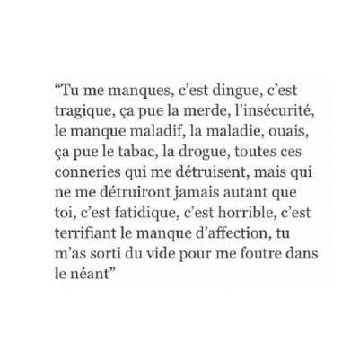 Citation Manque