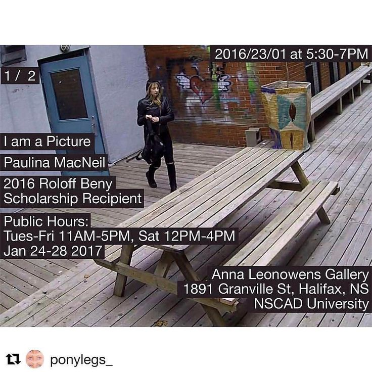 TONIGHT From @nscadphoto  Exhibition by 2016 Roloff Beny Scholarship recipient @ponylegs_ opening TONIGHT at 5:30pm at the @annaleonowensgallery!