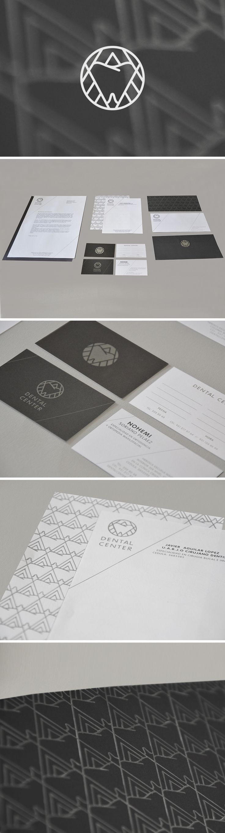 Designer: Flor Aguilar  ::::: Logo, Corporate identity for Dental Center