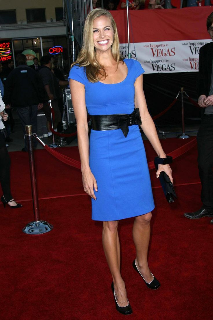 Brooke Burns In A Blue Dress Images, Graphics, Comments ...