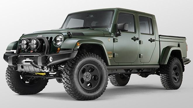 Jeep Pickup Truck Is Part Ridgeline, Part Colorado – NSEAVoice