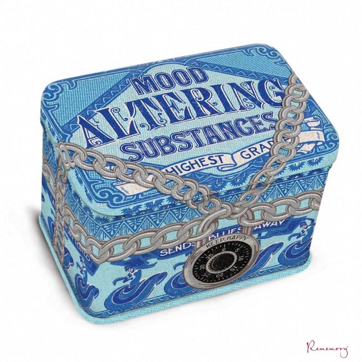 Jr. Treasure box Mood Altering | Blue q | Rememory