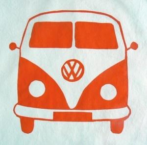 VW Bus Freezer Stencil