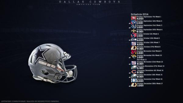 Dallas Cowboys 2016 Schedule Wallpaper - WallpaperSafari
