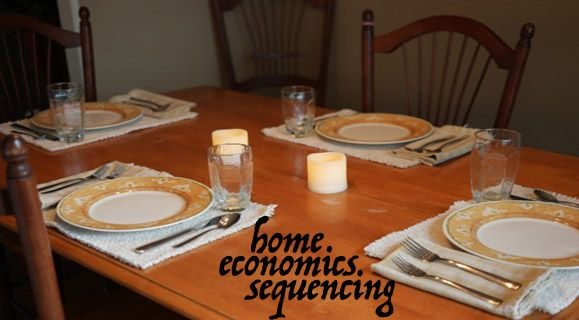 The Home Economics Sequencing Activity will help teach preschoolers about the basic, but essential life skills of doing laundry, setting the table and more.