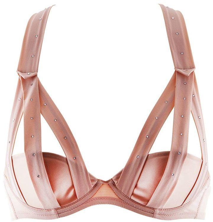 Chantal Thomass embellished strap bra on shopstyle.com