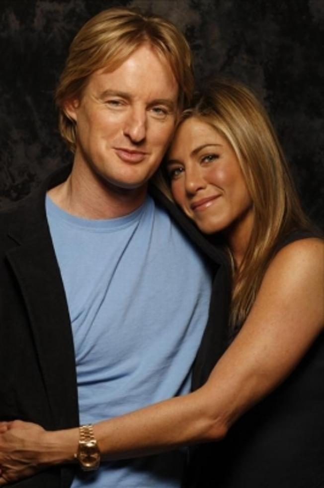 Jennifer Aniston + Owen Wilson: Generalprobe | blogger.com