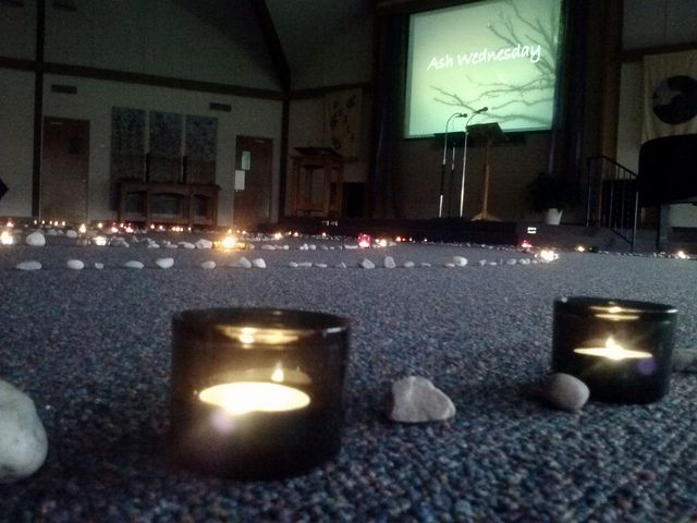 Ash Wednesday 2013 | Stone & Light Labyrinth
