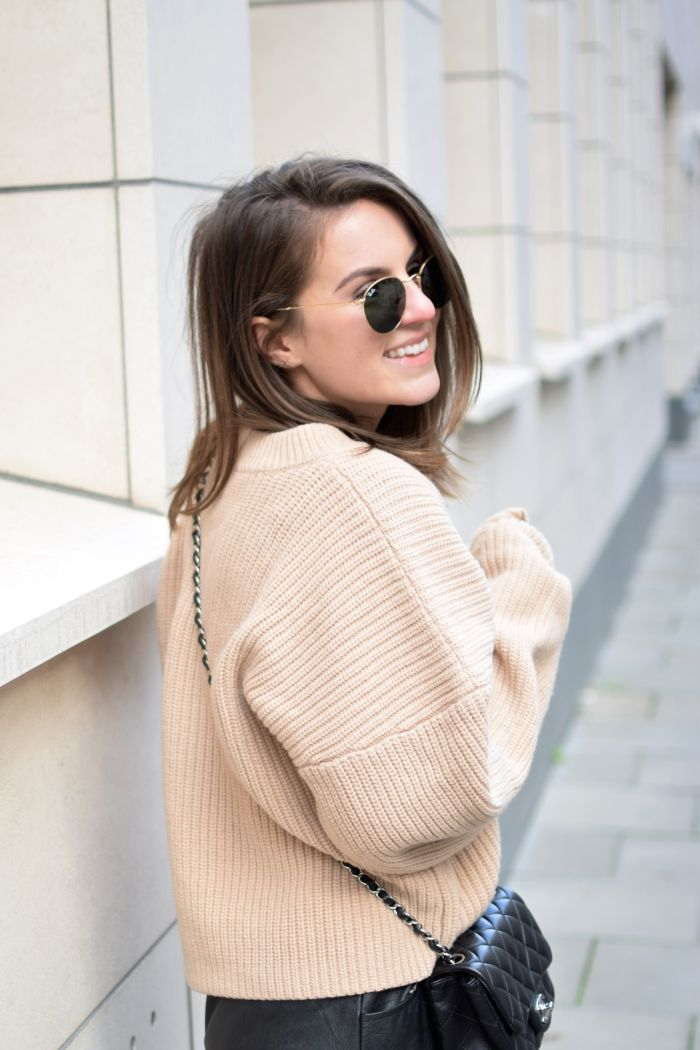 Strickpullover in Rose - Streetstyle by Shoppisticated