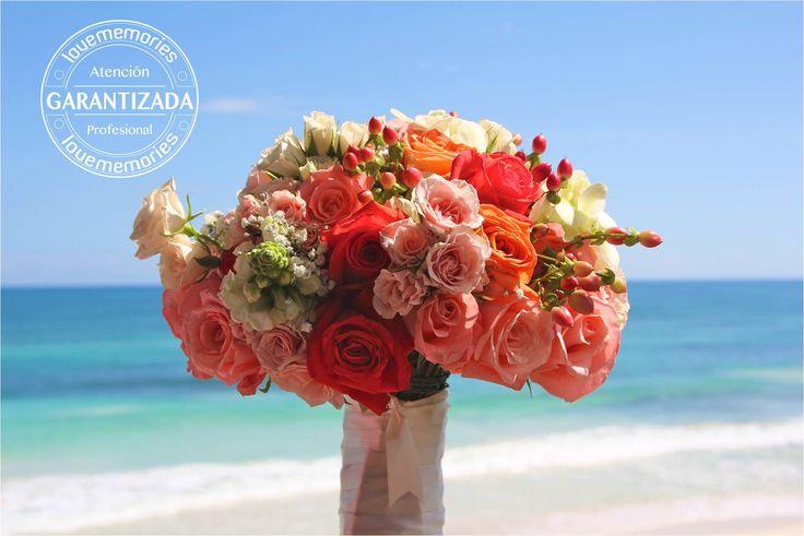 el #ramo de  #novia refleja tu personalidad #Llenalo de color y combinalo con las flores perfectas #LMflowers #CreandoMomentosmemorables