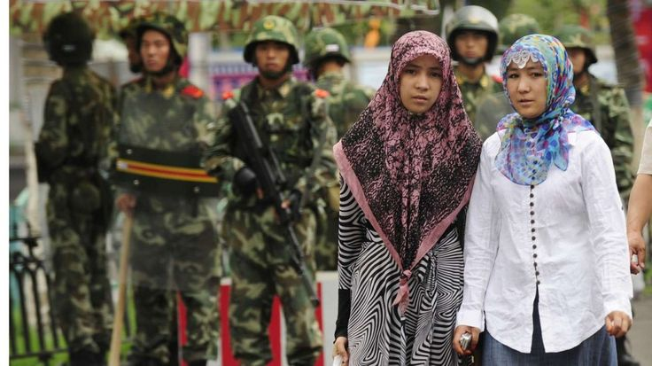 11/24/16 All residents in China's restive Xinjiang region must hand in passports to police: media  Many of the 10 million-strong Muslim Uygur minority have complained about discrimination, including denials of passport applications and controls on their culture and religion, in China's Xinjiang region. Photo: AFP