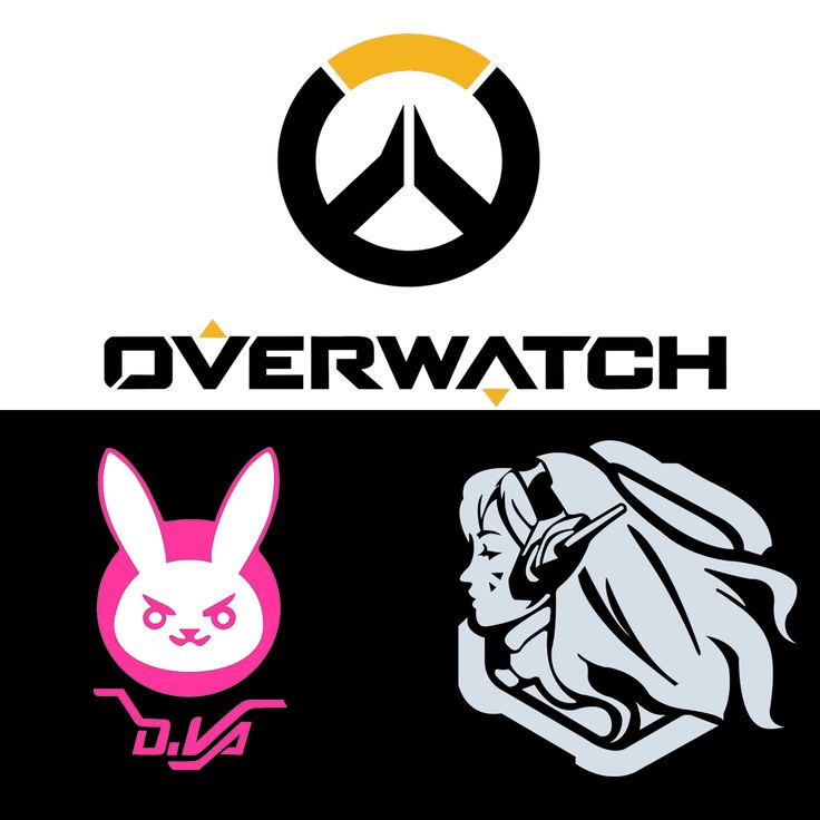 2016 new style overwatch figure game stickers car styling d va bunny car stickers motorcycle