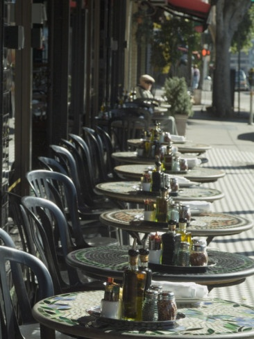 Outdoor Cafe, North Beach