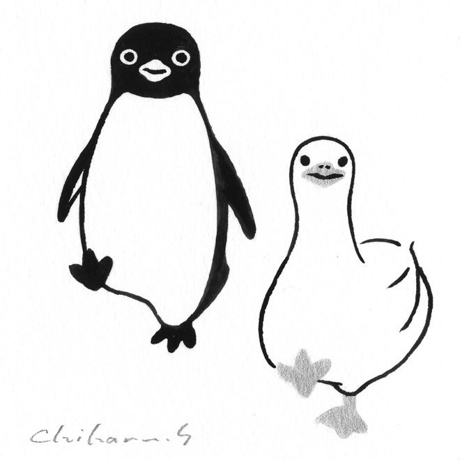 JR東日本のICカードのキャラクター「Suicaのペンギン」の作者であるイラストレーター坂崎千春の原画100点を展示する「ペンギン百態II」が、伊勢丹新宿店で開催される。会期は3月1日から7日まで。