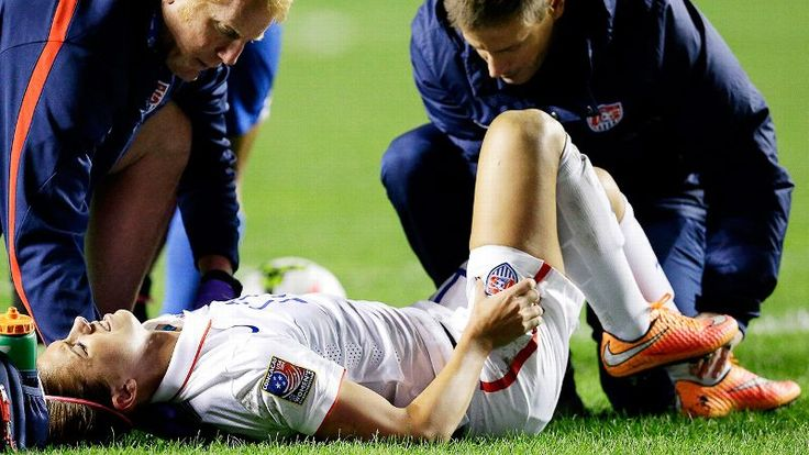 Alex Morgan Injury NOOOOO:(