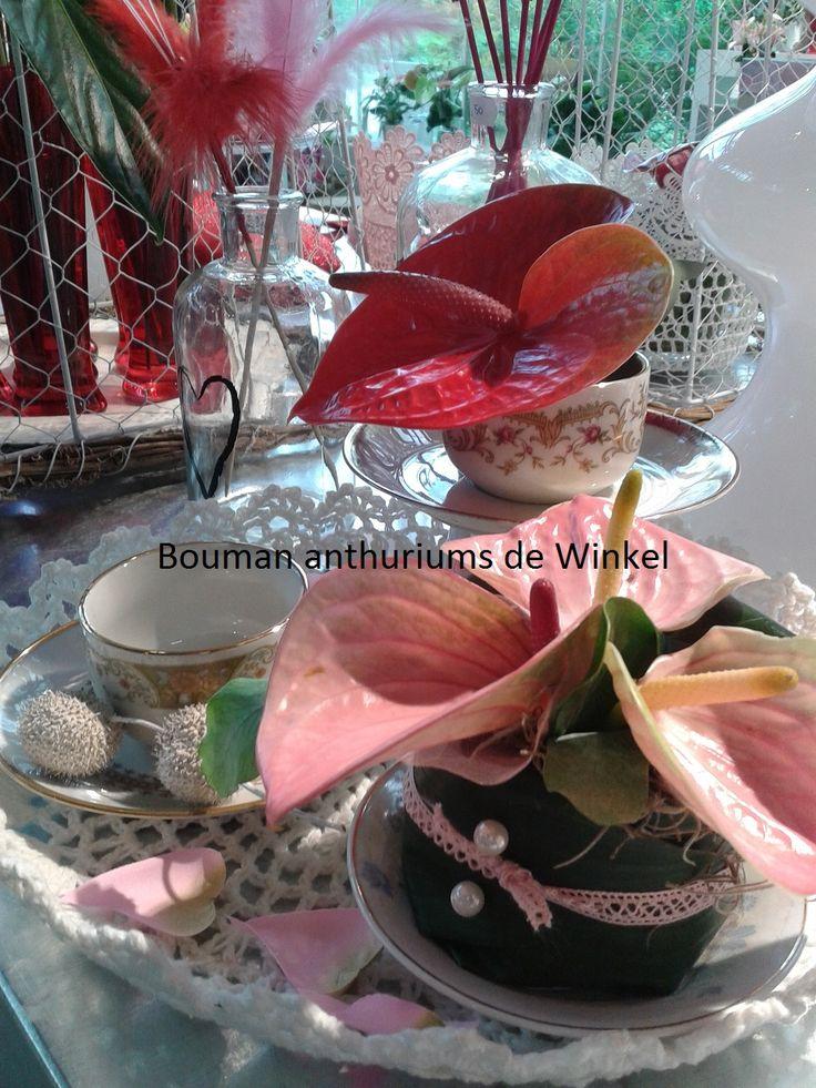 Bloemen gebakje voor moederdag
