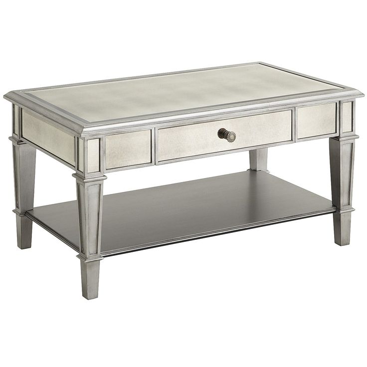 1000 Ideas About Mirrored Coffee Tables On Pinterest