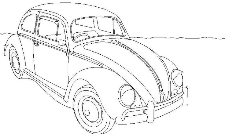 Herbie Car Coloring Pages : Love bug herbie the movie coloring page pages