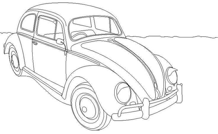 Kleurplaat Auto Herbie Kleurplaten Pinterest Autos Herbie Coloring Pages