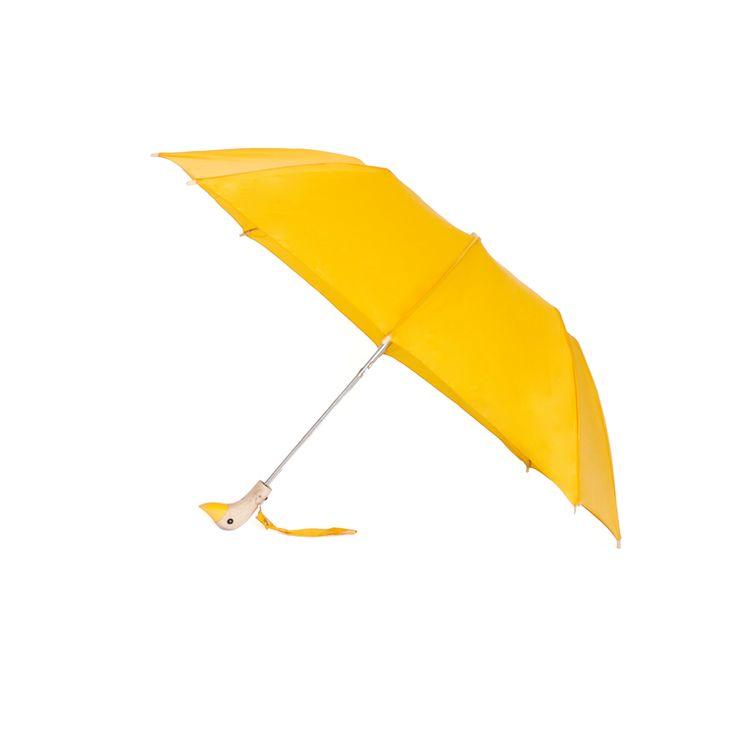 Sunflower Yellow Duck Umbrella Open.jpg