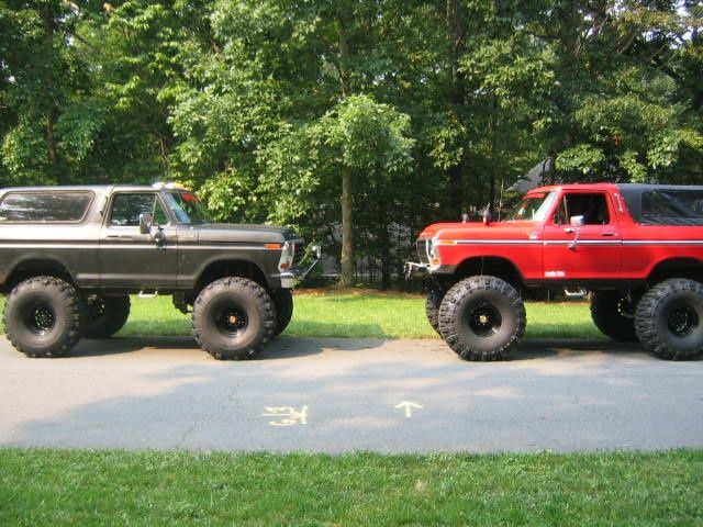 lifted broncos