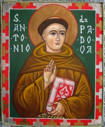 icona Sant'Antonio da Padova-www.mirabileydio.it