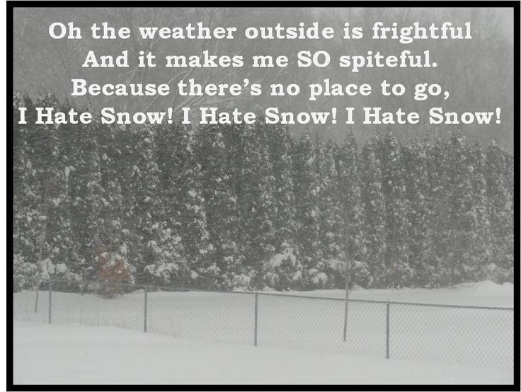 Winter Weather Funny Quotes Quotesgram: 166 Best Images About Winter Hater On Pinterest
