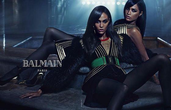 Сестры Дженнер, Хадид и Смоллс снялись в рекламной кампании Balmain - SUPER.ru