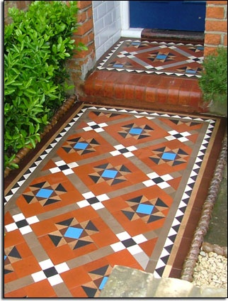 "restored path tiling...original features preserve the value. Be careful not to ""over restore"" I have seen some appalling attempts and re inventing history like Georgian light switches."