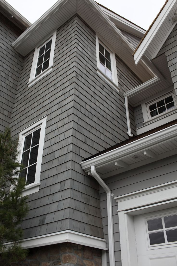 10 best james hardie evening blue siding w arctic white for Shingle sided homes