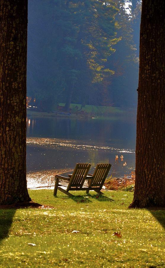 Perfect Autumn morning on the lake.  This photo was not taken at Lake Martin.  #lakemartin #realestate www.rhondajaye.com