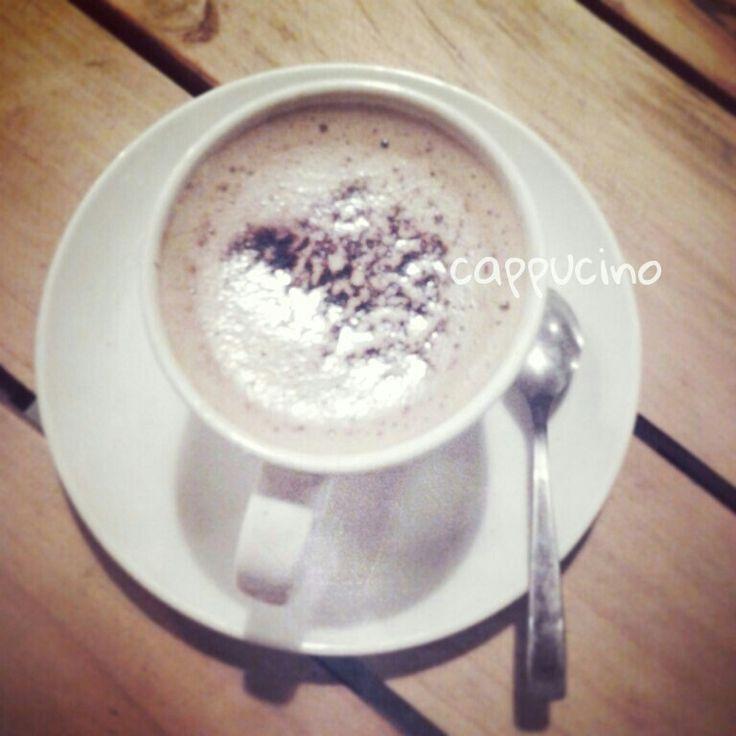 Hot cappucino