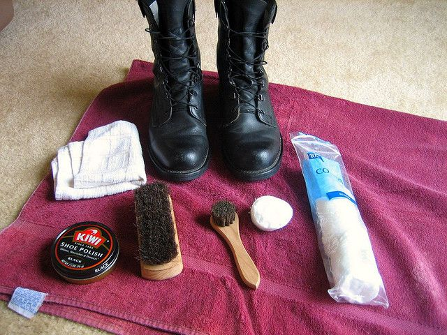 Shoe shining it pretty legit-just did it for the first time today. Every man should know how.