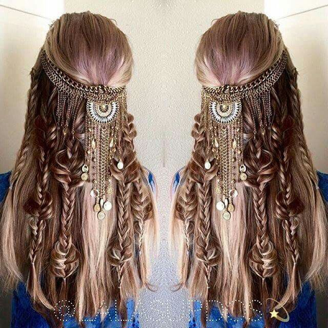 70 best viking warrior hair images on pinterest hairstyles fyhaircolors boho hair by by hair stylist laura kaszoni ccuart Images