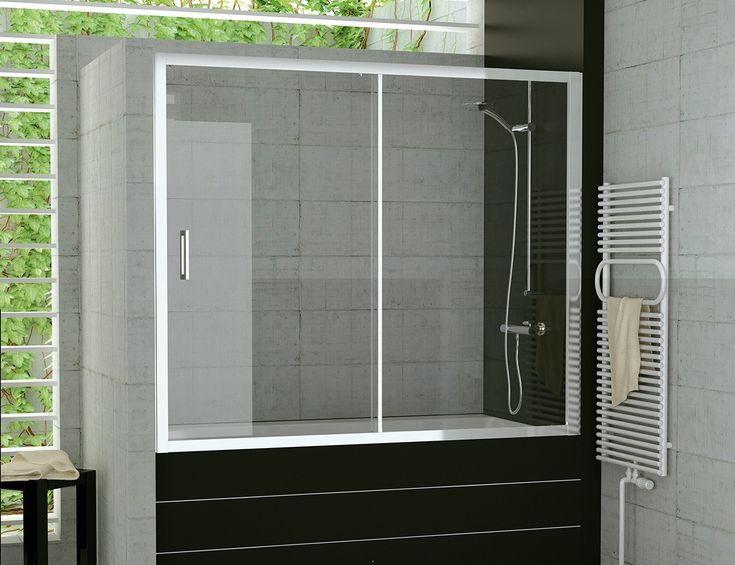 16 besten Duschwände für Badewannen Bilder auf Pinterest ... | {Duschabtrennung badewanne mit seitenwand 66}