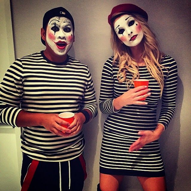 A.Co est. 1984// Couples costume - Mime Halloween Costume, Mimes, DIY Costume