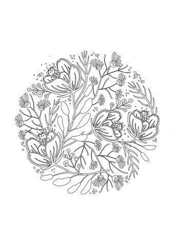 De 484 bsta inspiration wood burning patterns bilderna p zen flowers adult coloring activity book pronofoot35fo Choice Image