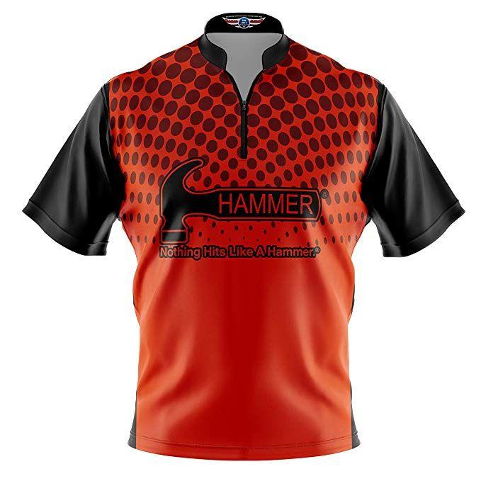 cc2976315f3cb Logo Infusion Bowling Dye-Sublimated Jersey (Sash Collar) - Hammer ...