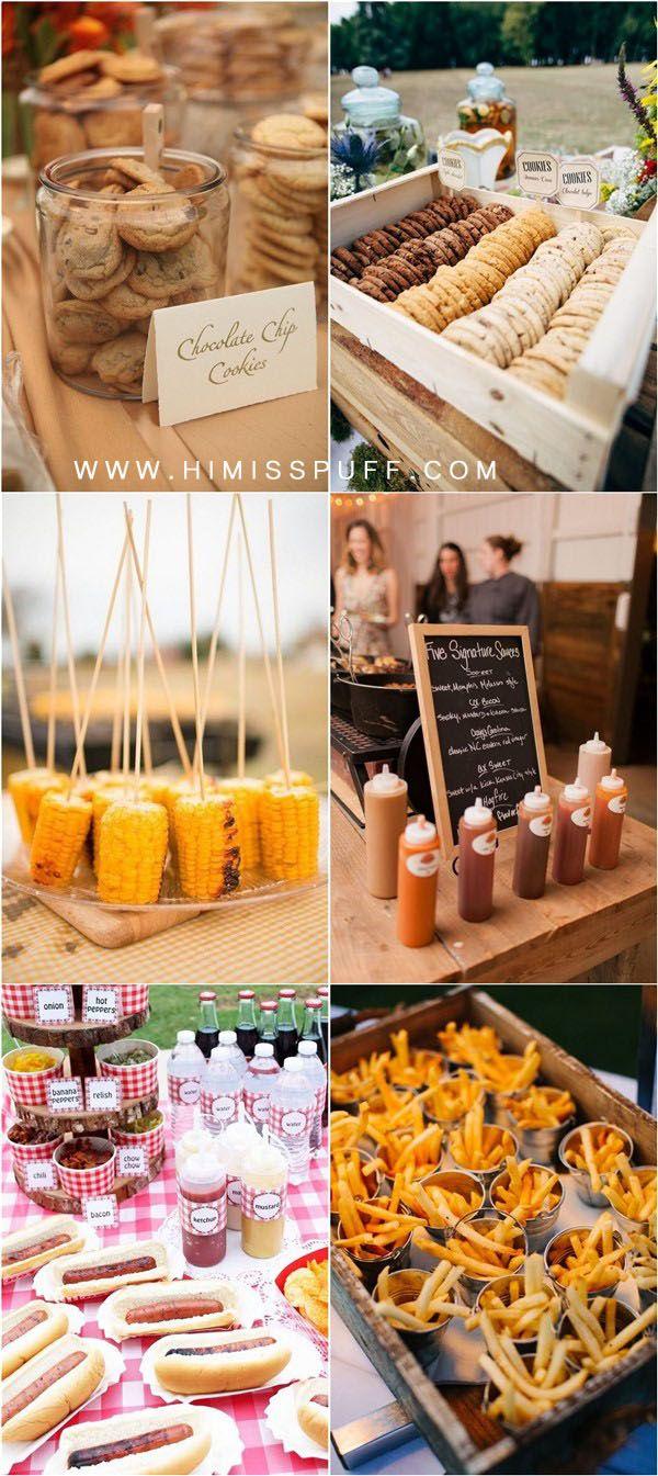 20 Backyard Barbecue Ideas For A Fun Wedding Reception Bbq Wedding Reception Backyard Bbq Wedding Barbecue Wedding