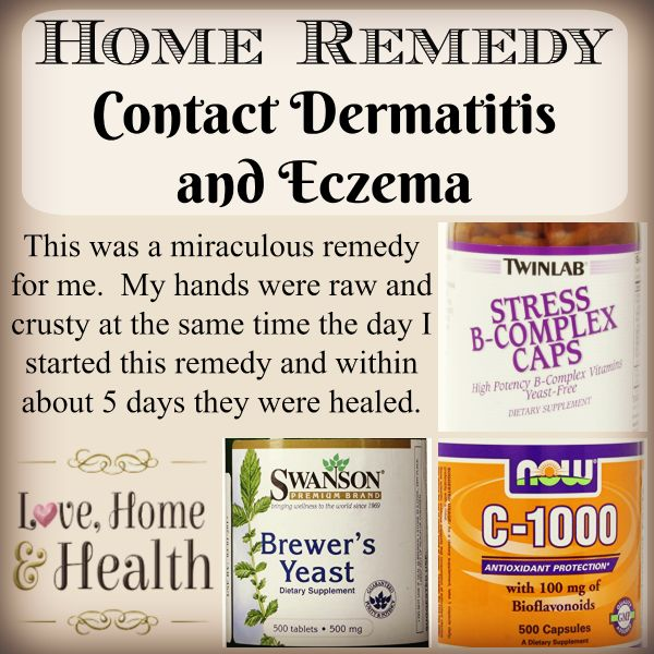 I healed my own contact dermatitis in 5 days with my easy home remedy - and have gone on to help many others do the same. YOU CAN heal yours too