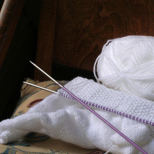 Hand knitting and machine knitting are basically the same exact technique