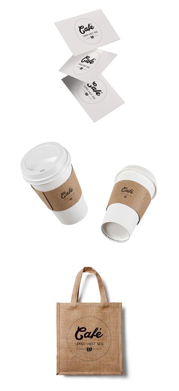 Identity details for Upper West Side Cafe, by Egg Visual Communication. www.egg.com.gr