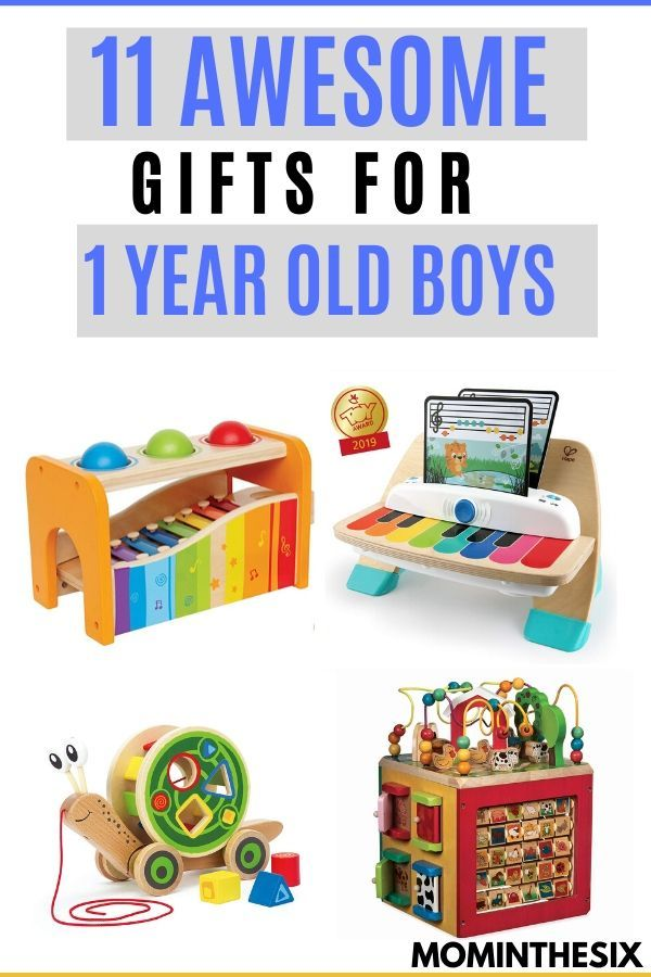 Toy And Gift Ideas For 1 Year Old Boys 1 Year Old Christmas Gifts Toddler Birthday Gifts One Year Old Gift Ideas