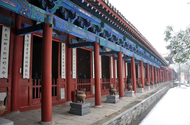 Dongyue Temple Temple, Inspiration