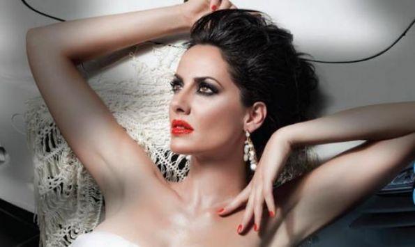 Greek model Evi Adam